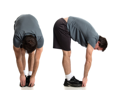 Man Stretching
