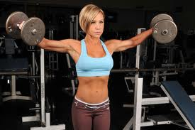 Female-Weight-Lifting-Routines-Side-Lateral-Raise